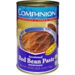 COMPANION BEAN PASTE SWEET RED