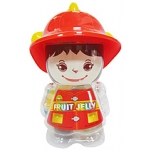 JELLY BOY FIREFIGHTER WHITE M003