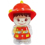 JELLY GIRL FIREFIGHTER RED M005
