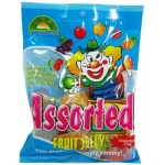 JELLY CLOWN ASSORTED FRUIT B001