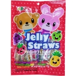 COCONUT JELLY STRAWS BAG -ASSORTED