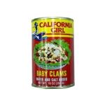 CALIFORNIA GIRL BABY CLAM