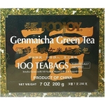 FOOJOY TEA BAGS GENMAICHA GREEN