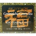 FOOJOY TEA BAGS GENMAICHA GREEN