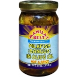 MILKFISH(BANGUS)IN OLIVE OIL HOT &