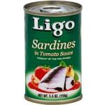 LIGO SARDINES IN TOMATO SAUCE (GREEN)