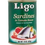 SARDINE IN TOMATO SAUCE GREEN LIGO