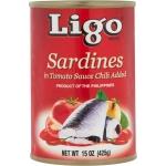 SARDINE IN TOMATO SAUCE HOT W/CHILI