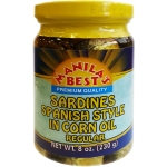 SARDINES SPAN. IN CORN OIL REGULAR