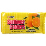 SUNFLOWER CRACKER ORANGE FLAVOR