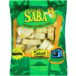 BANANA FROZEN SLICED GOLDEN SABA