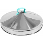STEAMER COVER STAINLESS STEEL 14