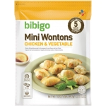 MINI WONTONS FULLY COOKED CJ FOODS