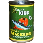 AFRICAN KING MAKEREL IN TOMATO SAUCE W/ HOT CHILI