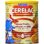 CERELAC MIX FRUIT AND WHEAT W/MILK
