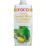 COCONUT WATER UHT W/PINEAPPLE FOCO