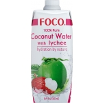 FOCO COCONUT WATER UHT WITH LYCHEE