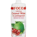 COCONUT WATER UHT W/POMEGRANATE