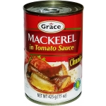 MACKEREL IN TOMATO SAUCE GRACE