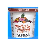 COCONUT TROPICAL FLAVORS ICE CREAM
