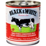 BLACK AND WHITE SWEETENED CONDENSED MILK